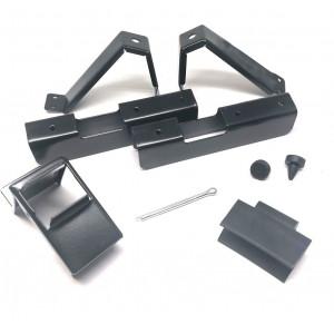 Kit fixation planche de coffre - Austin Mini - réservoir 34