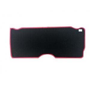 Moquette int de malle Ar - noir liseré rouge - Austin Mini