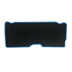 Moquette int de malle Ar - noir liseré bleu - Austin Mini