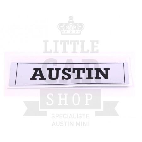 Autocollant cache culbuteur - AUSTIN-Austin Mini
