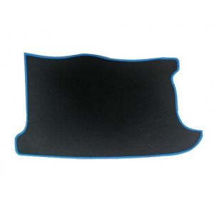 Tapis de coffre (noir) liseré bleu