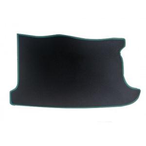 Tapis de coffre (noir) liseré vert