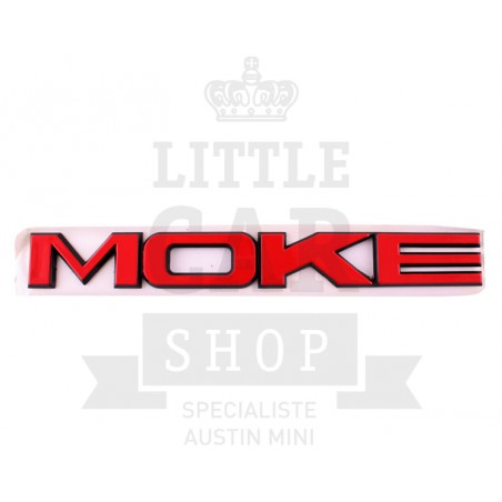Badge Mini Moke Rouge - Austin Mini-Austin Mini