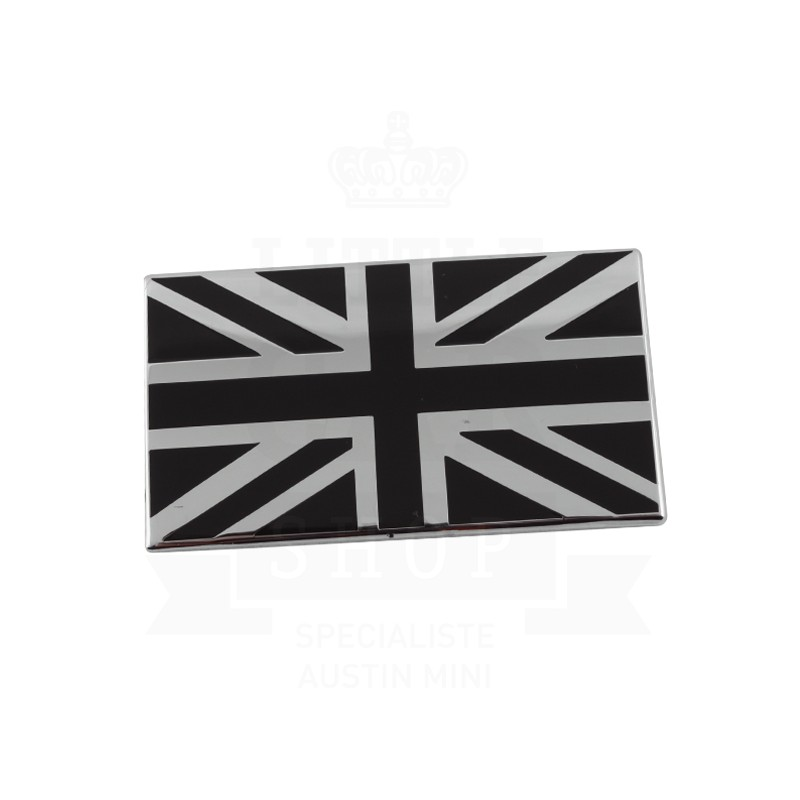 tlcs badge drapeau anglais mail noir coller austin mini pi ces austin mini 1959 2000. Black Bedroom Furniture Sets. Home Design Ideas