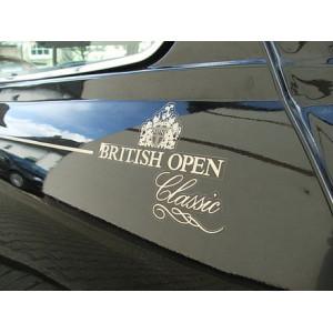 Kit Autocollant  : British Open - Austin Mini - Or ou GrisArgent