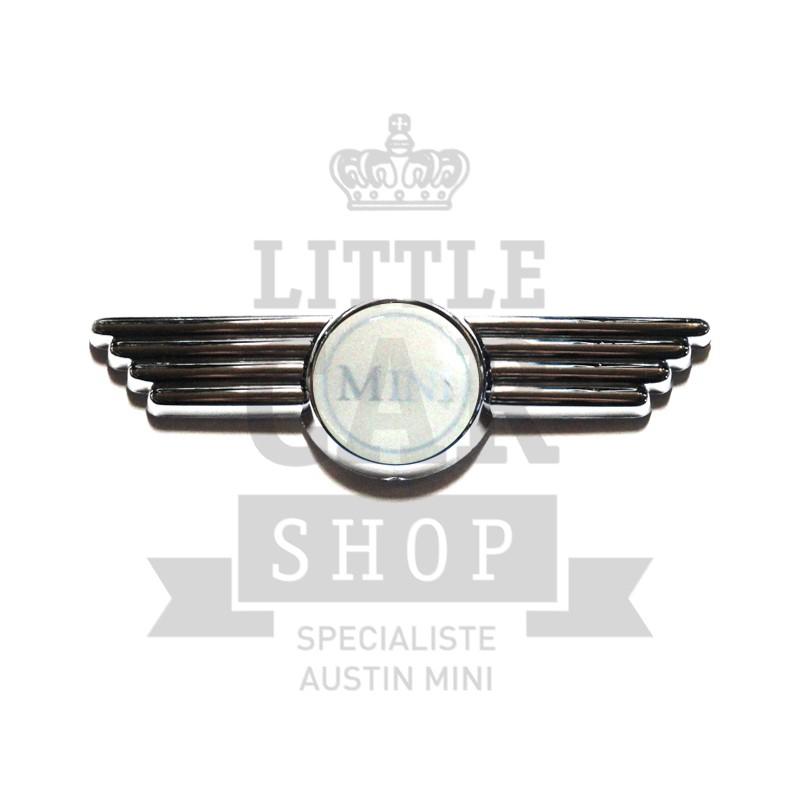Badge de capot et de malle Mini nu-Austin Mini