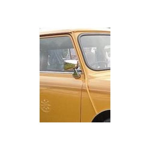 Rétro plat chromé D INOX - Austin Mini