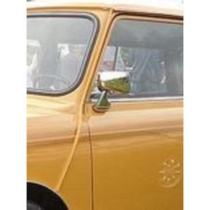 Rétro plat chromé G INOX - Austin Mini