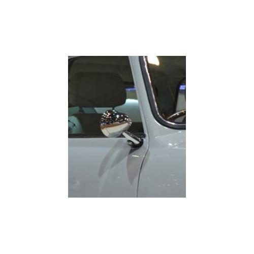 Rétro obus D - spécial Mini - INOX  - ''classic'' CONVEXE - Austin Mini