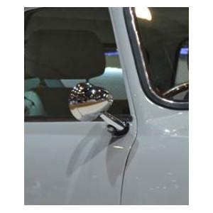 Rétro obus D - spécial Mini - INOX  - ''classic'' - Austin Mini