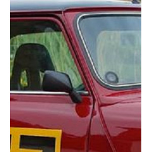 Rétro origine noir Droite - Austin Mini
