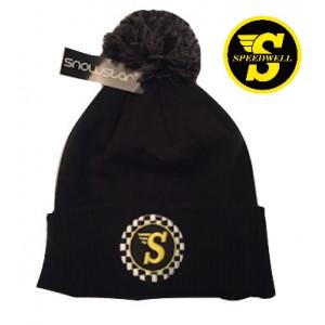 Bonnet avec pompom - Speedwell - 70'S