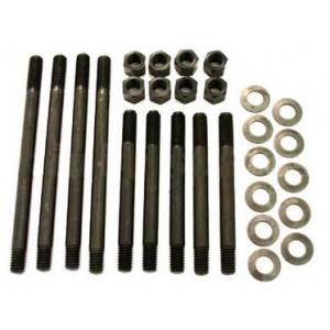 Goujons de culasse + écrous + rondelles (renforcés) 9 pièces