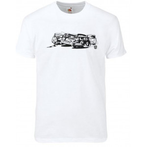 T Shirt Mini Race Blanc