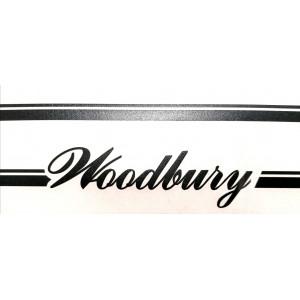 Kit autocollants Mini Woodbury Noir - Austin Mini