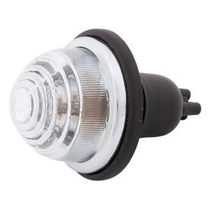 Feu type Lucas verre / L594 blanc / Ampoule 2 filaments