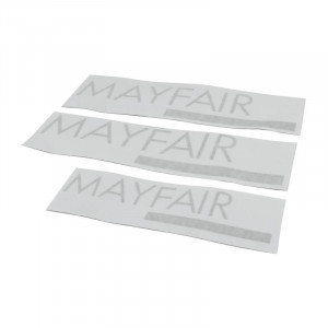 Kit Autocollant : Mayfair Gris - 1988 1989