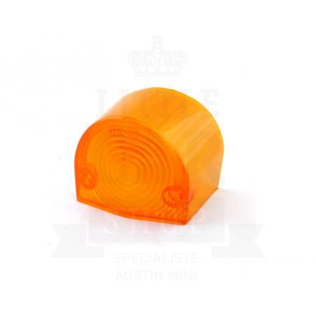 Cabochon de type feu Lucas L647 orange - DROITE-Austin Mini