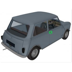 Joint de poignée exterieure 1959 à 1969 - Austin Mini
