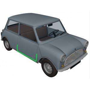 Joint de porte inférieur droit 1998 à 2000 - Austin Mini