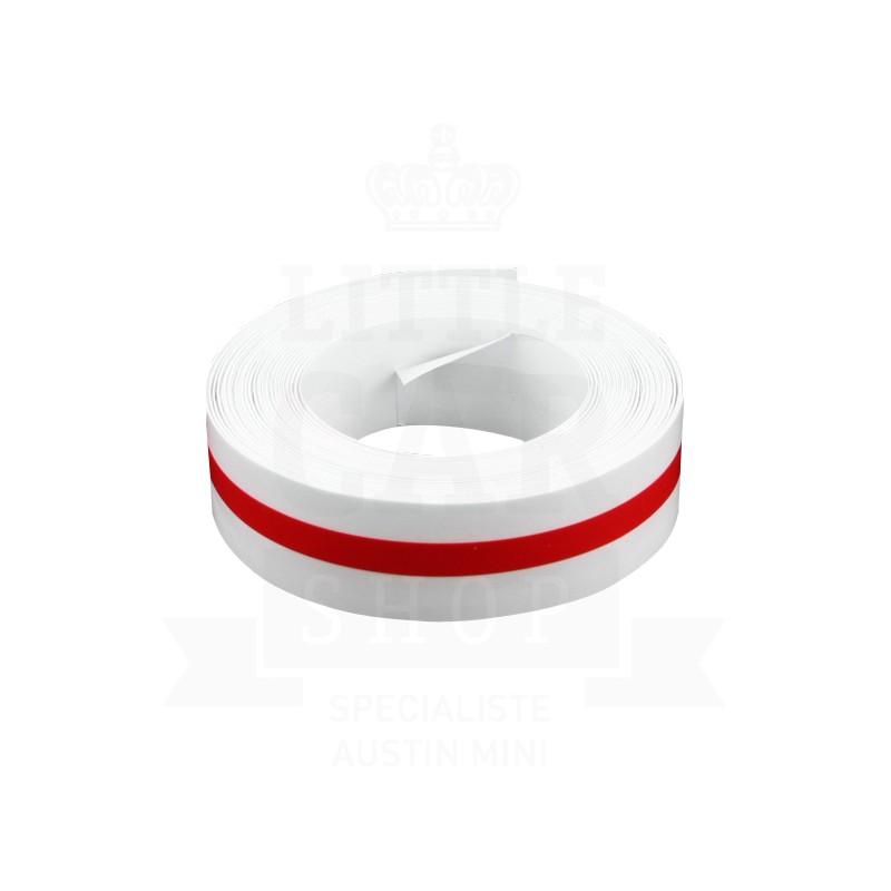 Liseré de caisse 1 filet : rouge - Austin Mini