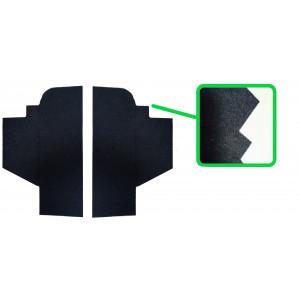 Fond de vide poche (la Paire) moquette noir - Austin Mini