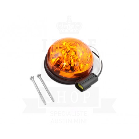 Clignotant à LED après 1988 - Orange-Austin Mini