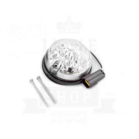 Clignotant à LED après 1988 - Blanc-Austin Mini