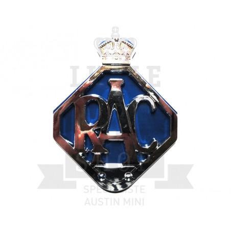 Badge RAC (Royal Automobile Club)-Austin Mini