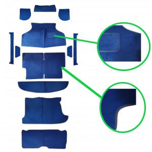 Kit moquette 12 pièces Luxe / Bleu Marine