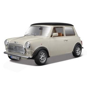 1/18 Mini Cooper 1969 Blanche