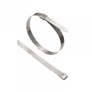 Collier métal cardan et crémaillère 450 mm x 4.5mm