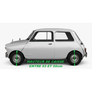 Sphère / Cône de suspension (MOULTON) Av ou Ar - Austin Mini