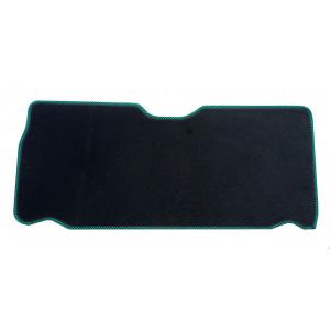 Moquette int de malle Ar - noir damier vert - Austin Mini