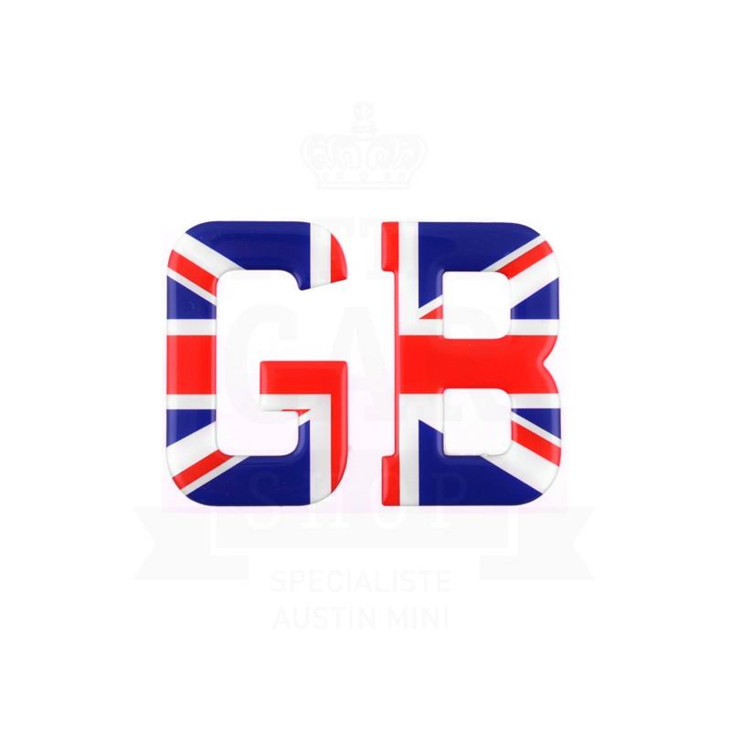 Lettre GB résine Union Jack