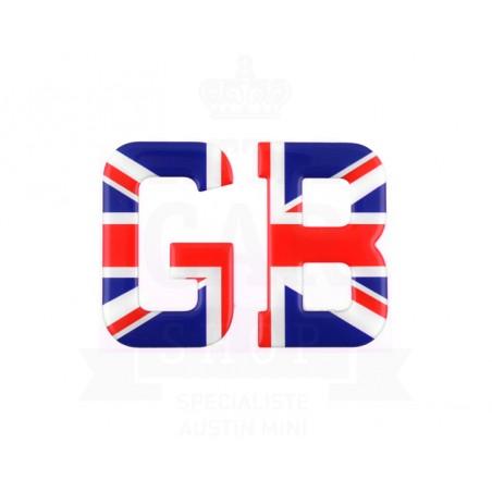 Lettre GB résine Union Jack-Austin Mini