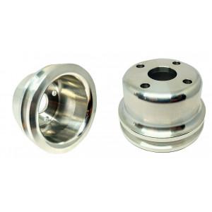 Poulie de pompe à eau - MINI - alu - 80mm