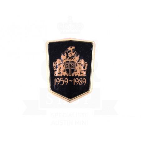 Badge capot 30 eme anniversaire-Austin Mini