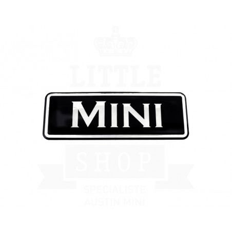 Sticker Mini Noir de calandre-Austin Mini