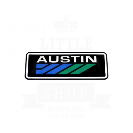 Sticker Mini Austin de calandre