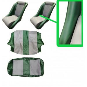 Kit intérieur Siège Cobra® Classic avec appui tête Vert / gris