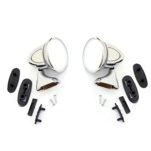 Pack - Rétro obus - spécial Mini - INOX - ''classic'' CONVEXE - Austin Mini