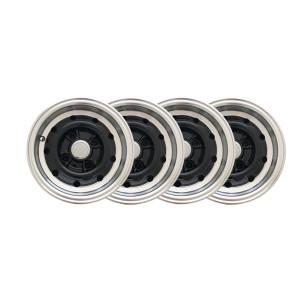 Jante 5x10 - AUG WHEELS Conversion 12 - Noir x4