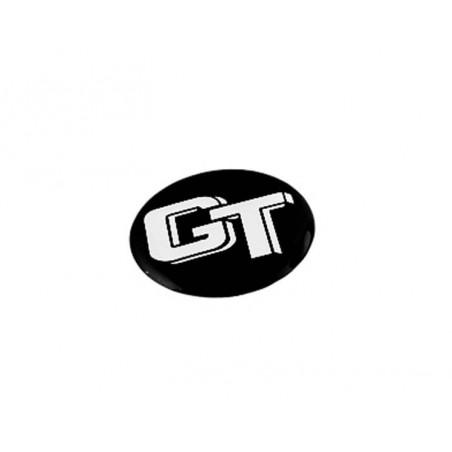 Autocollant GT noir (27 mm)-Austin Mini