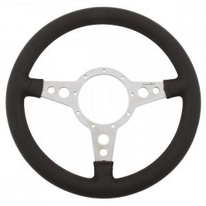 Volant Moto-lita® Cuir 13'' Alu Plat (Moyeu en option)