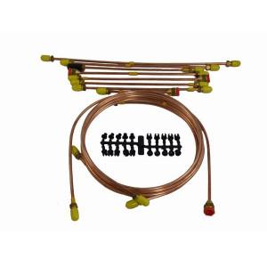 Kit de tuyau de frein (simple circuit) - Austin Mini -