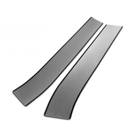 Bande de capot avant Italian Job (la paire) : gris liseré noir