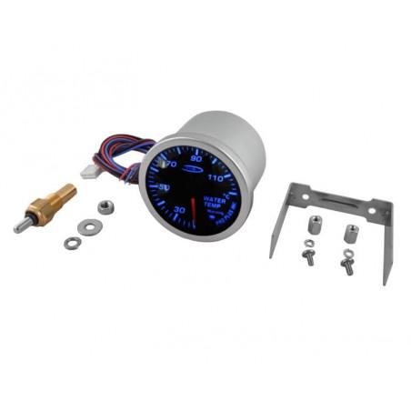 Jauge de temptérature d'eau Pro Plus 0-120°C - Bleu