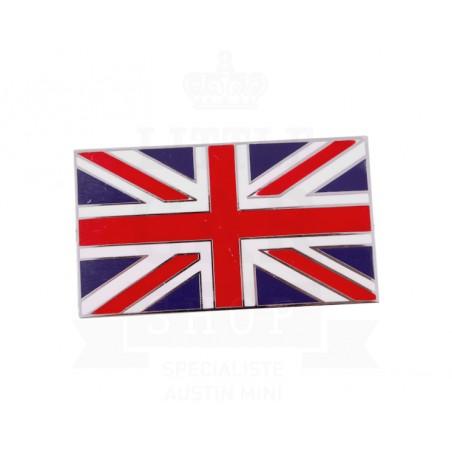 Badge drapeau anglais émail à coller 38 x 21 mm