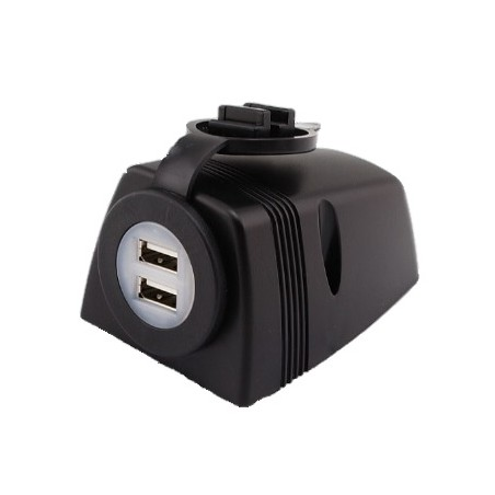 Prise double USB 12V/24V